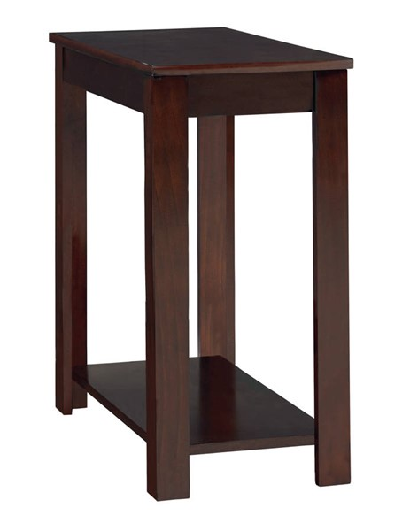 Standard Furniture Merlot Matte Black Chairside Table STD-21671