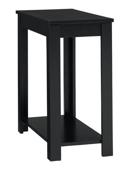 Standard Furniture Matte Black Chairside Table STD-21672