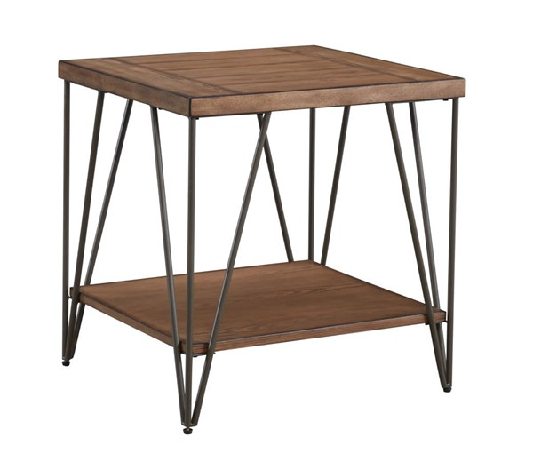 Standard Furniture Bedford Brown End Table STD-26922