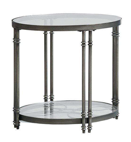 Standard Furniture Terrazza Chrome End Table STD-28032
