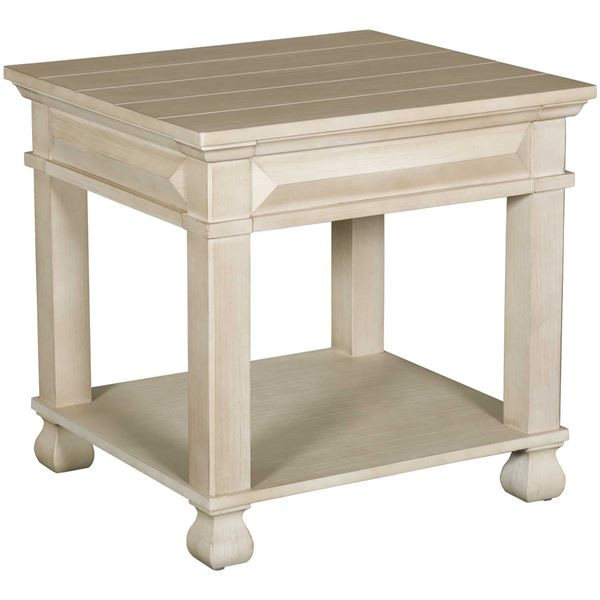 Standard Furniture Passages White End Table STD-29112