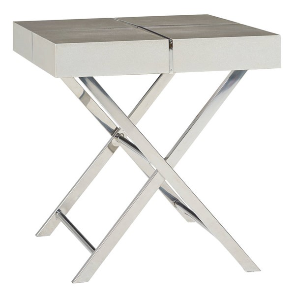 Standard Furniture Ava Silver End Table STD-29612