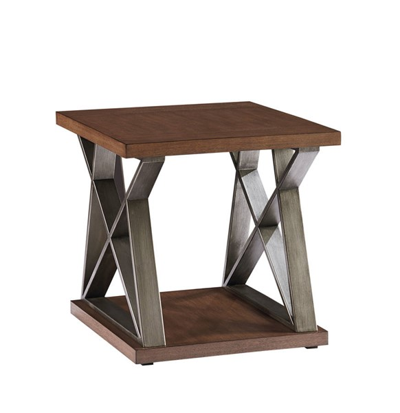 Standard Furniture Cumberland Smoky Brown End Table STD-29962