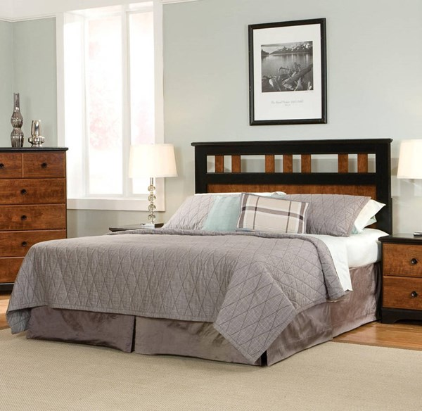 Steelwood Traditional Cherry Twin Panel Headboard STD-61253