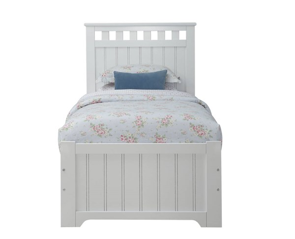 Standard Furniture Claire White Panel Beds STD-6705-PBED-VAR