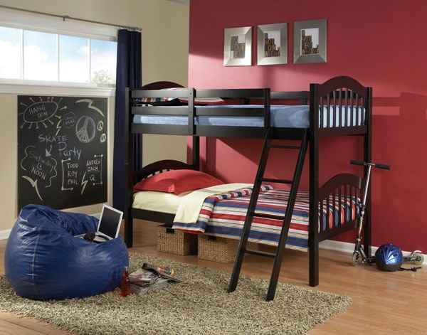 Stacker Beds Wood Twin/Twin Bunk Beds STD-80000