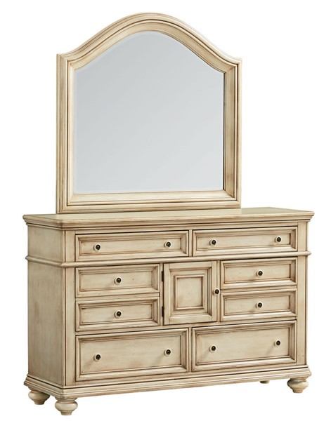 Chateau Traditional Bisque Wood Dresser STD-82859