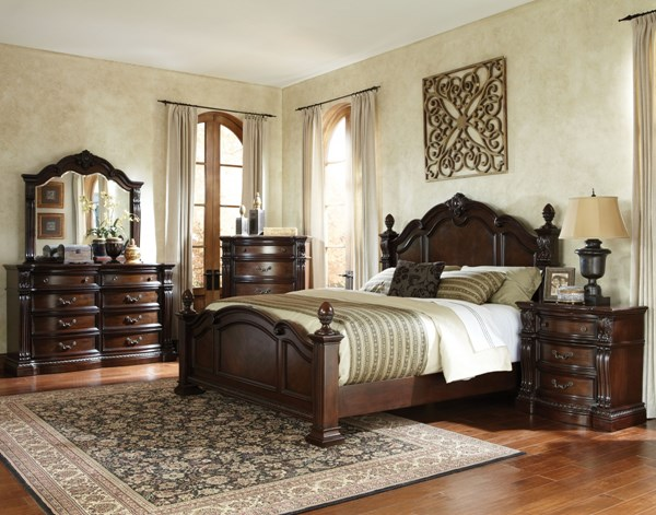 Standard Furniture Churchill Brown Master Bedroom Set STD-86000