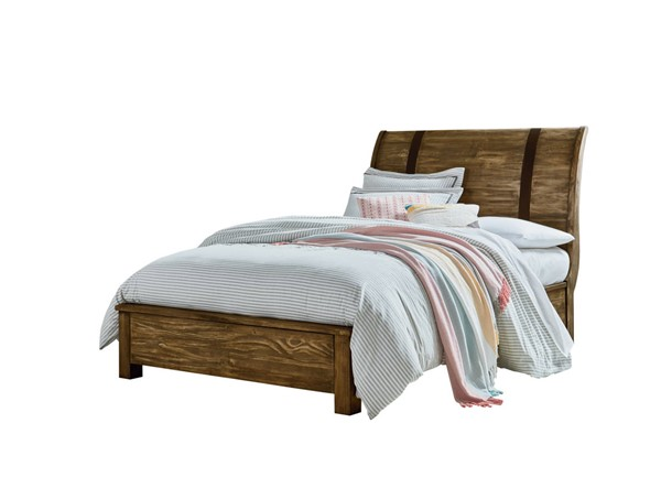 Standard Furniture Nelson Youth Brown Full Sleigh Bed STD-9026-FSLBED