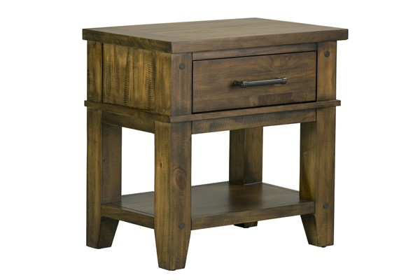 Standard Furniture Nelson Youth Brown Nightstand STD-90257