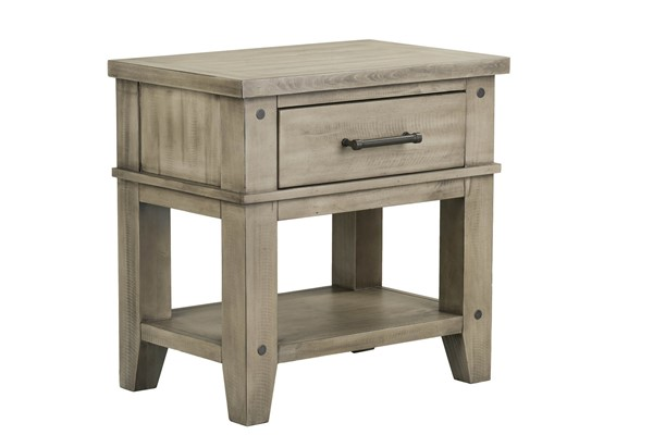 Standard Furniture Nelson Youth Grey Nightstand STD-90357