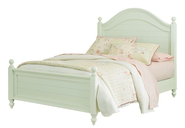 Camellia Traditional Mint Hardwood Full Poster Bed STD-9522-FBED