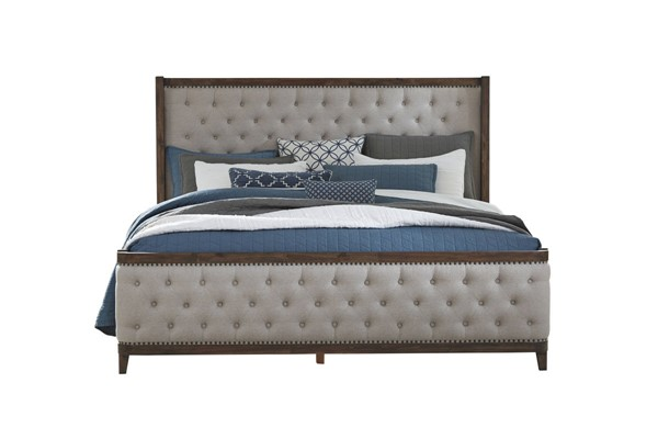 Standard Furniture Cresswell Queen Upholstered Bed STD-9885-QUBED
