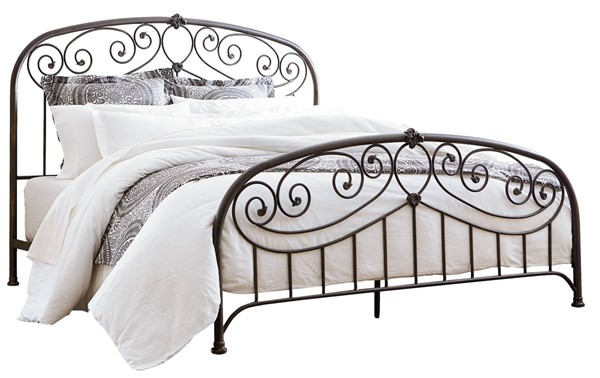 Standard Furniture Lillian Black Full Metal Bed STD-9991-B-FMBED