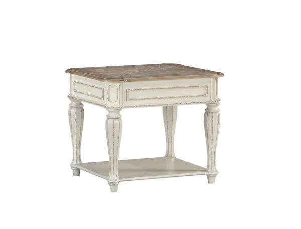 Standard Furniture Stevenson Manor White End Table STD-20432