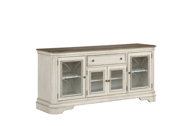 Standard Furniture Stevenson Manor White TV Console STD-20436