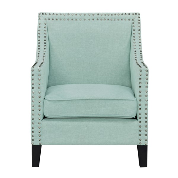 Standard Furniture Hailey Celadon Polyester Fabric Accent Chair STD-340121