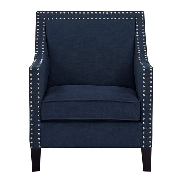 Standard Furniture Hailey Navy Polyester Fabric Accent Chair STD-340128