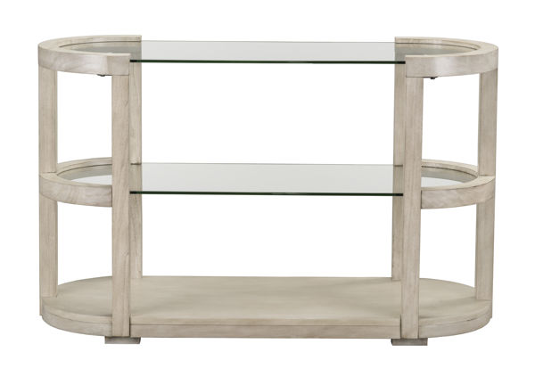 Standard Furniture Cleo White Sofa Table STD-23437