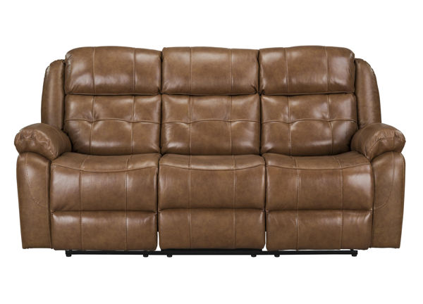 Standard Furniture Holbrook Light Brown Manual Reclining Sofa STD-4258396