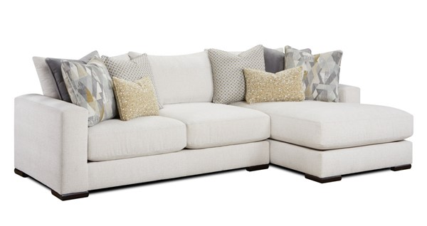 Southern Motion Braxton Ivory Fabric Sofa Chaise STHN-105021L26RBRAXTON-IVRY