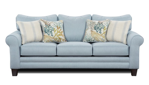 Southern Motion Labyrinth Sky Fabric Sofa STHN-1140-Labyrinth-Sky-Sofa