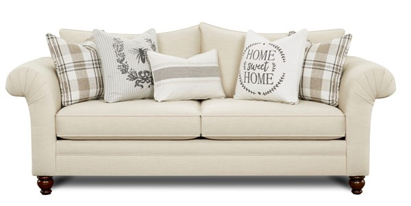 Southern Motion Caitlin Birch Cream Fabric Sofa STHN-06-00-KP-Caitlin-Birch