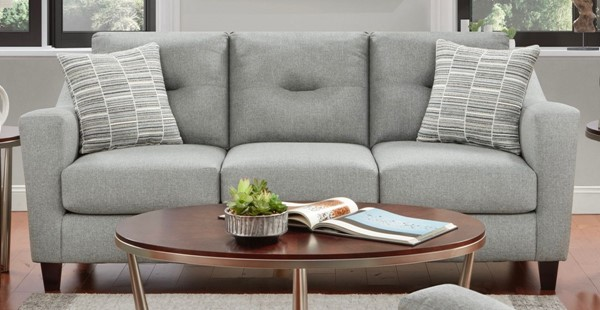 Southern Motion TNT Grey Fabric Sofa STHN-8210-TNT-Charcoal