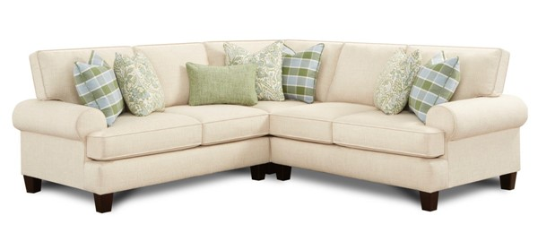 Southern Motion Baja Natural Fabric Sectional STHN-4221L21R15-BAJA-NT-SECT