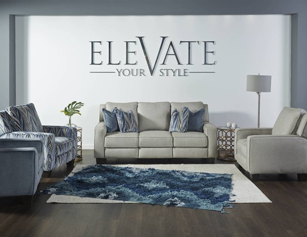 Southern Motion West End Grey Reclining Sofa STHN-68532P274151576030860