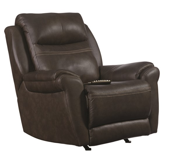 Southern Motion Gold Metal Brown Socozi Massage Wall Hugger Recliner STHN-6172-95P-957-18
