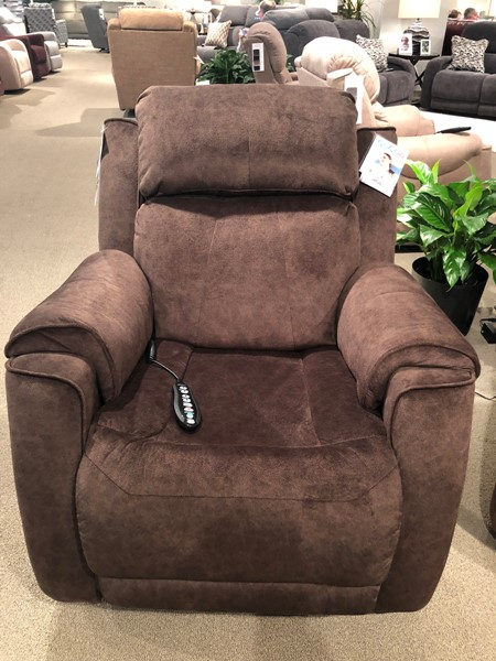 Southern Motion Safe Bet Brown Cocoa Socozi Massage Rocker Recliner STHN-5757-95P-152-21