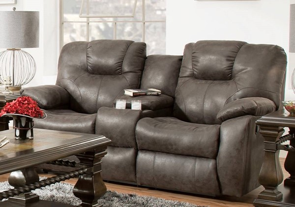 Southern Motion Avalon Grey Double Reclining Loveseat STHN-83828-29909