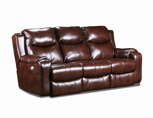 Southern Motion Marvel Brown Double Reclining Sofa STHN-881-61P-906-22