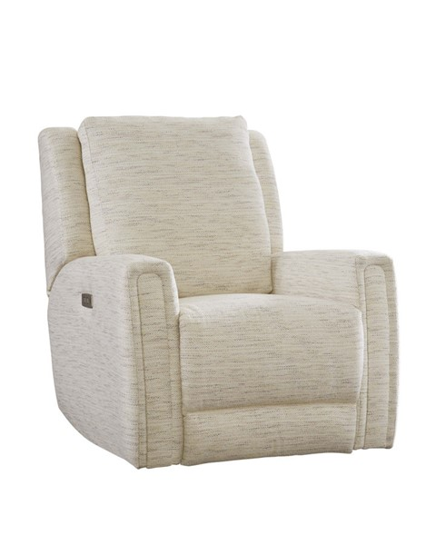 Southern Motion Wonderwall Off White Power Headrest Rocker Recliner STHN-5324P-210-15