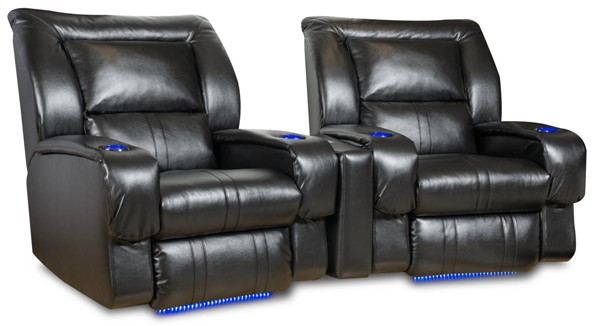 Southern Motion Roxie Black Power Plus Wall Hugger Home Theater Group STHN-2148PLUS-44-48PLUS-90513