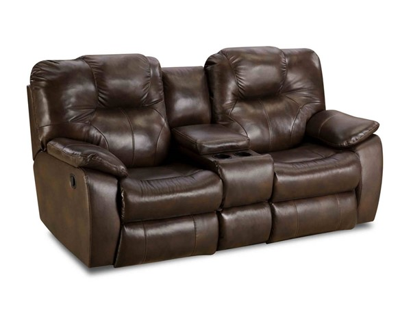 Southern Motion Avalon Brown Alfresco Palazzo Double Reclining Loveseat STHN-83828-90622