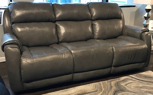 Southern Motion Safe Bet Grey Power Reclining Sofa STHN-757-31PP-906-04
