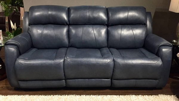 Southern Motion Safe Bet Blue Reclining Sofa STHN-757-31-903-60