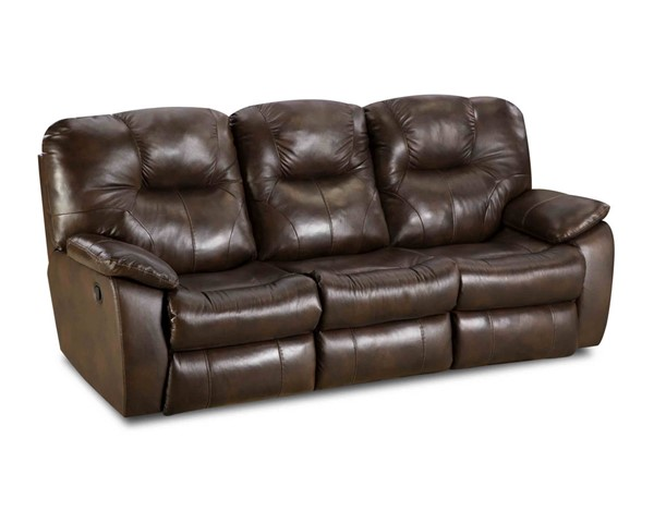 Southern Motion Avalon Brown Alfresco Palazzo Double Reclining Sofa STHN-83831-90622