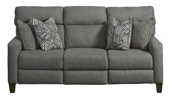 Southern Motion MT Vernon Grey Double Reclining Sofa STHN-68632P222143601433714