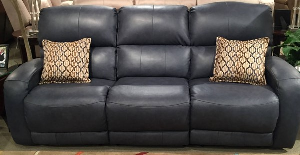 Southern Motion Fandango Blue Double Reclining Sofa STHN-88432-95760-38960