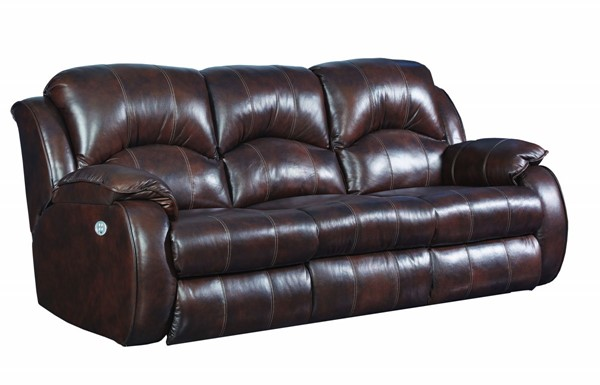 Southern Motion Cagney Brown Power Headrest Double Reclining Sofa STHN-705-61P-912-21