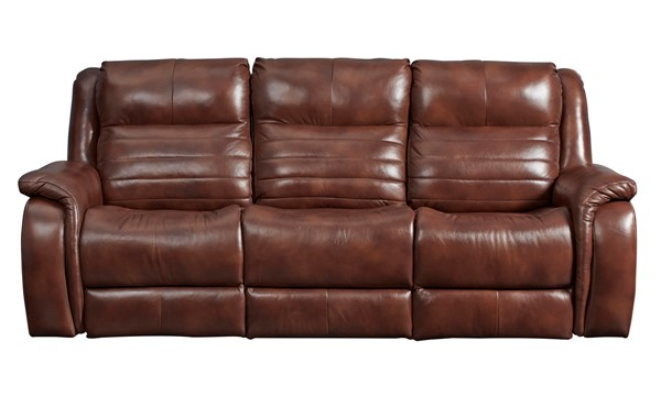 Southern Motion Essex Brown Power Headrest Double Reclining Sofa STHN-712-61P-906-21