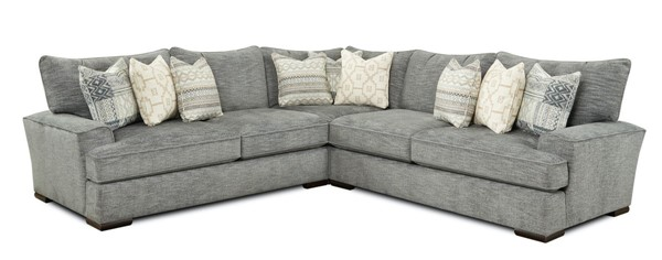 Southern Motion Handwoven Slate Sectional STHN-200020012005-RIVERDALE