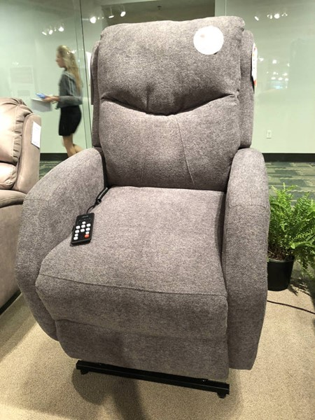 Southern Motion Tip Top Grey Socozi Massage Lift Recliner with Power Headrest and Lumbar STHN-97317-95P-286-14