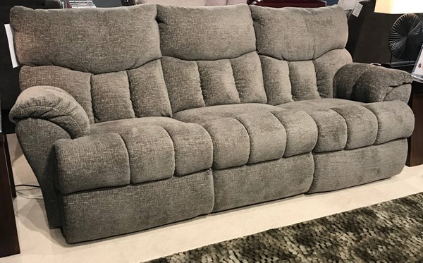 Southern Motion Appolo Grey Power Headrest Double Reclining Sofa STHN-833-61P-116-09