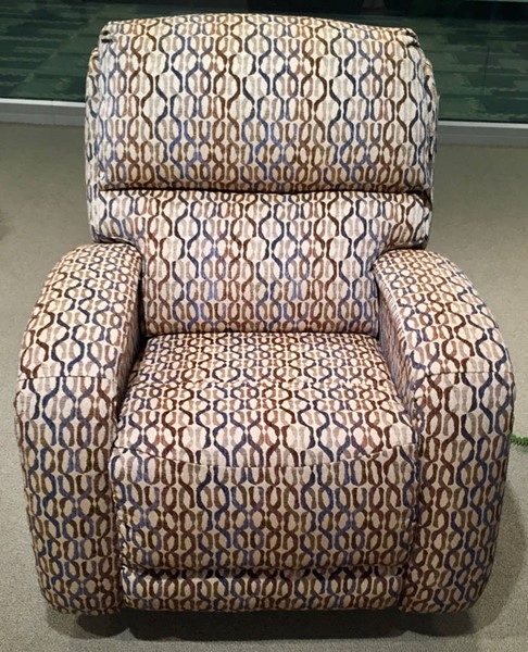 Southern Motion Fandango Blue Power Headrest Rocker Recliner STHN-5184P-38960