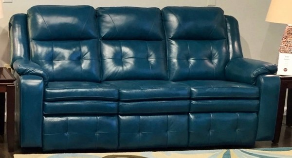 Southern Motion Inspire Green Double Reclining Sofa STHN-850-31-906-31