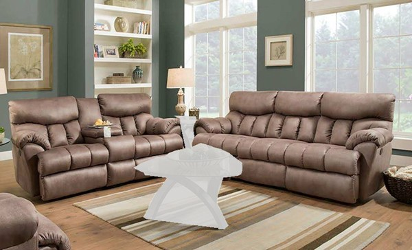 Southern Motion Re Fueler Brown Latte Double Reclining Sofa and Loveseat Set STHN-813-31-28-276-17